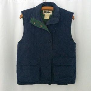 Vintage quilted LLBean vest